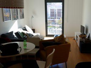 Wohnzimmer unseres Lissabon Apartments
