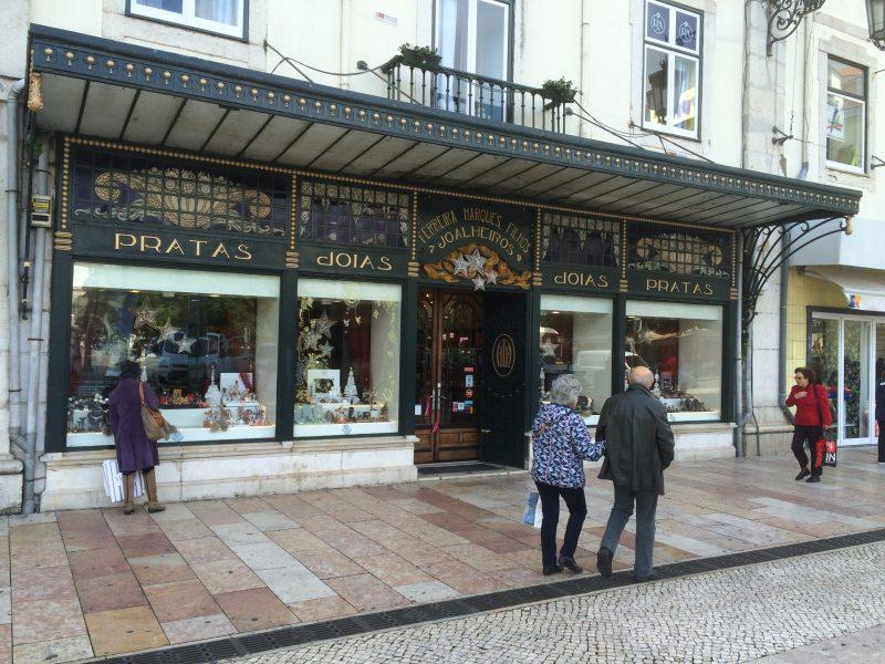 Geschäft in Lissabon