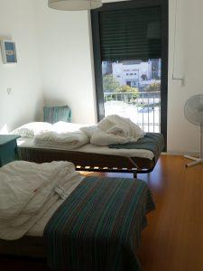 Das zweite Schlafzimmer im Apartment