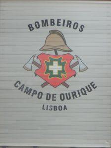 Das Logo der Lissabonner Feuerwehr