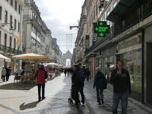 Temperatur im November in Lissabon