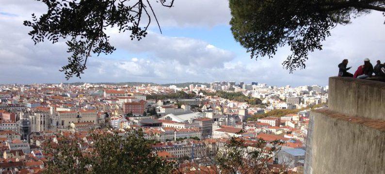 Aussicht vom Castelo de São Jorge über die Stadt