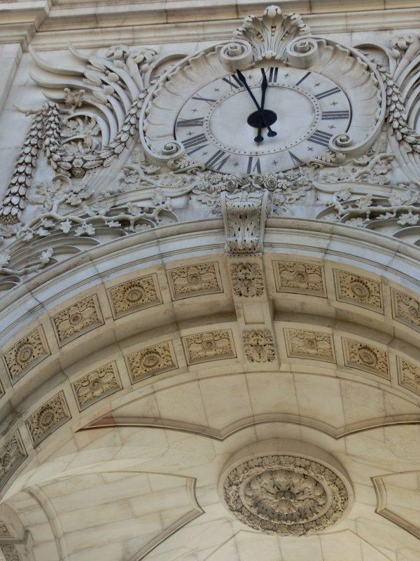 Detail vom Arco da Rua Augusta Tor