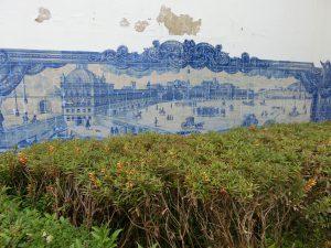 Ein tolles Fliesenbild in Lissabon