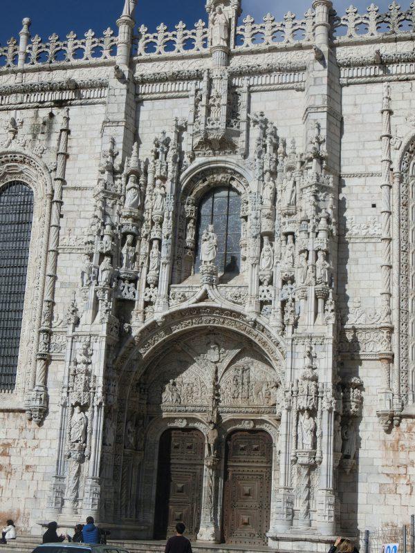 Tor von der Jeronimos Monastery