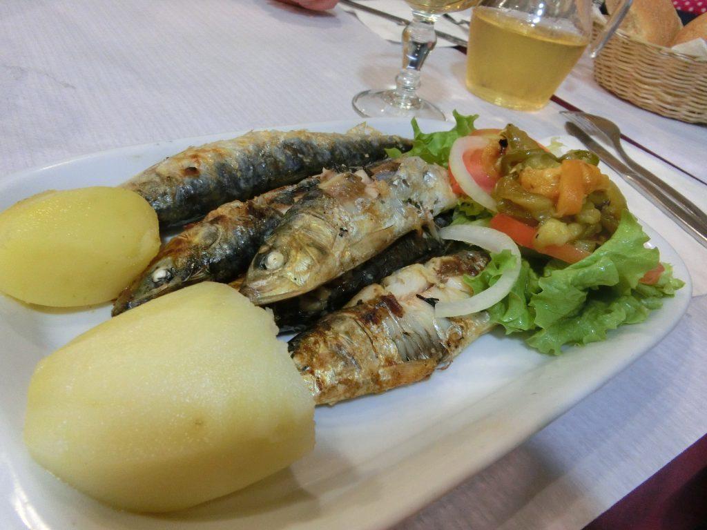 Sardinen vom Grill