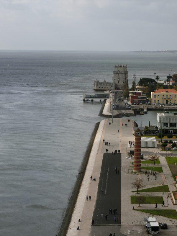 Aussicht auf dem Torre de Belem