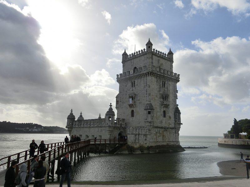 Eines der Wahrzeichen von Lissabon: Torre de Belem