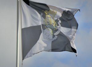 Stadtflagge / Flagge von Lissabon