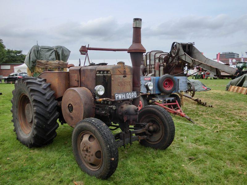 Historische Landmaschinen auf der Norla 2016