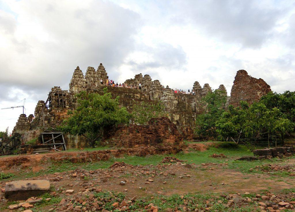 Phnom Bakheng von unten