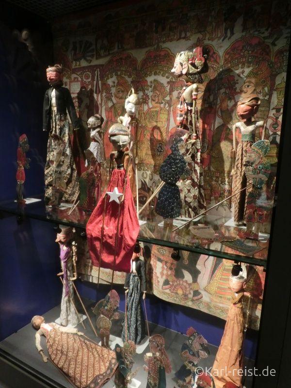Ausstellungsobjekte der Welt im Museum of World Culture Museum der Kulturen der Welt Göteborg Sehenswürdigkeit