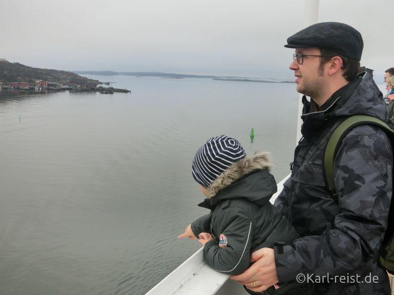 Aussicht Stena Scandinavican bei Fahrt nach Göteborg