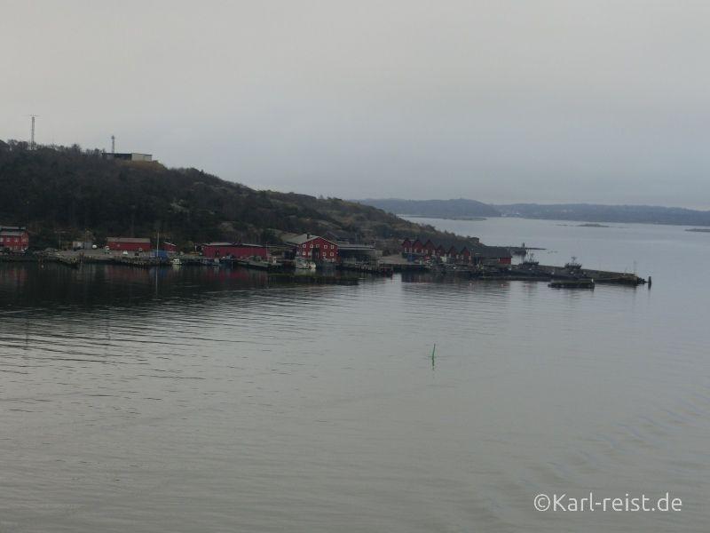 Aussicht Stena Scandinavican von Kiel Göteborg