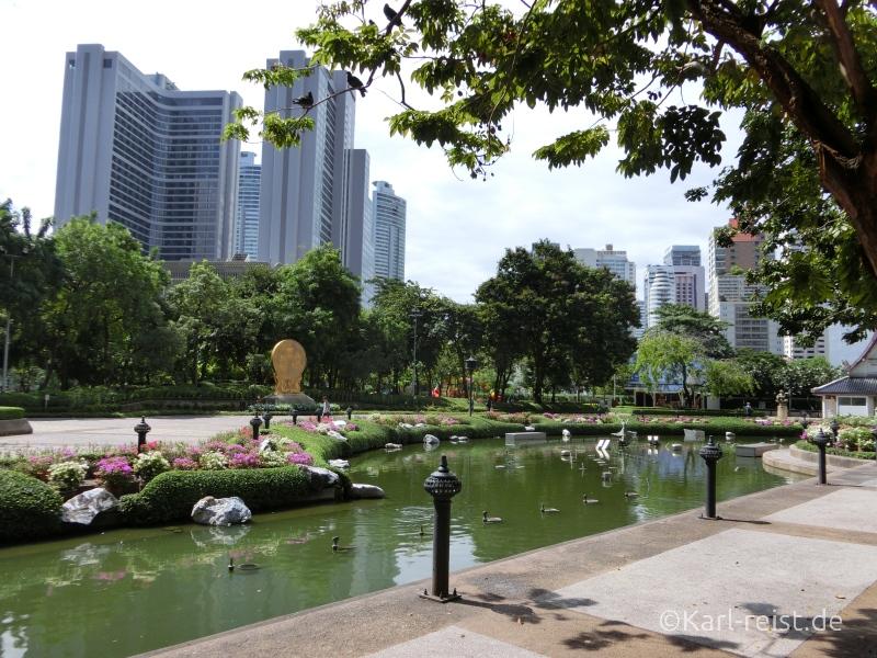 Park an der Sukhumvit Road
