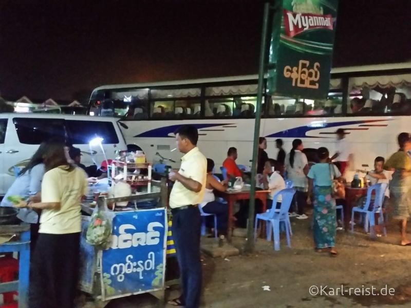 Busbahnhof JJ Express Yangon