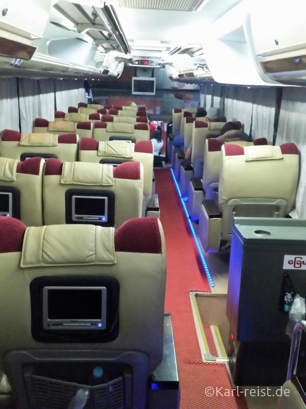 VIP Bus JJ Express Yangon 3