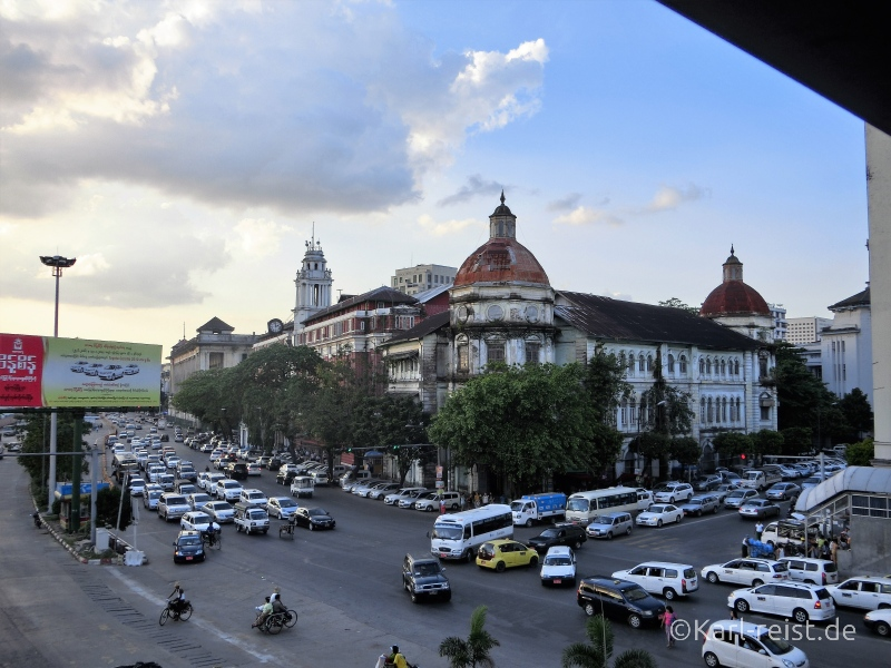 Myanmar Customs Department Yangon