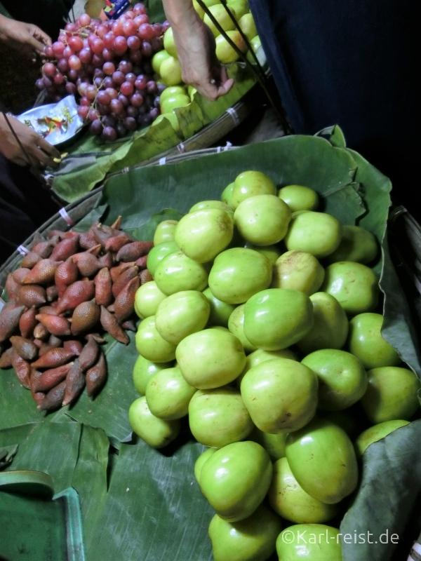 Bild Yangon Nachtmarkt Chinatown