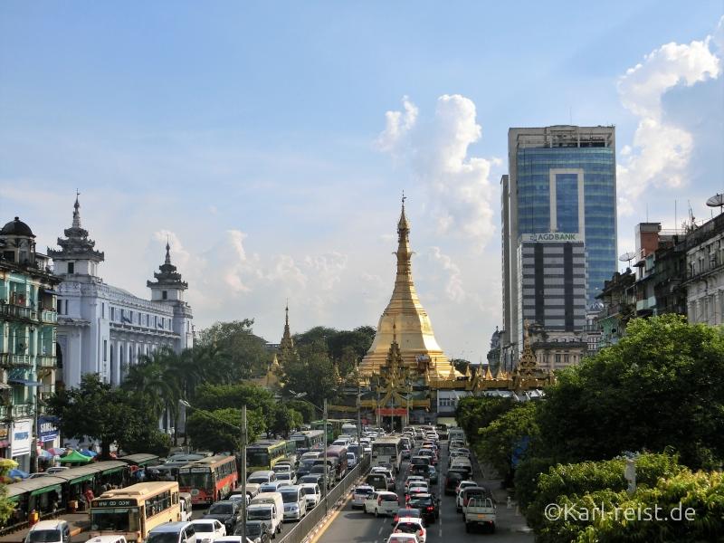 Sule Pagode Yangon