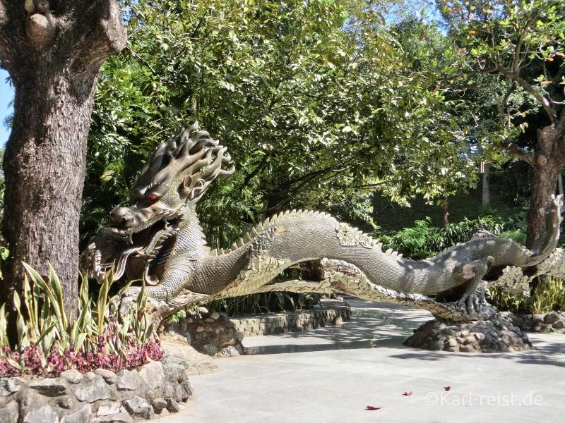 Drachen Figur Yangon Zoo
