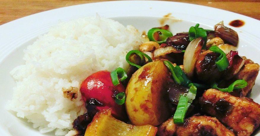 Rezept für Gai Pad Med Mamuang / Gebratenes Hühnchen mit Cashewnüssen