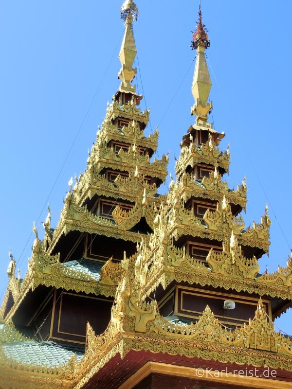 Details Tempel Shwedagon Pagode