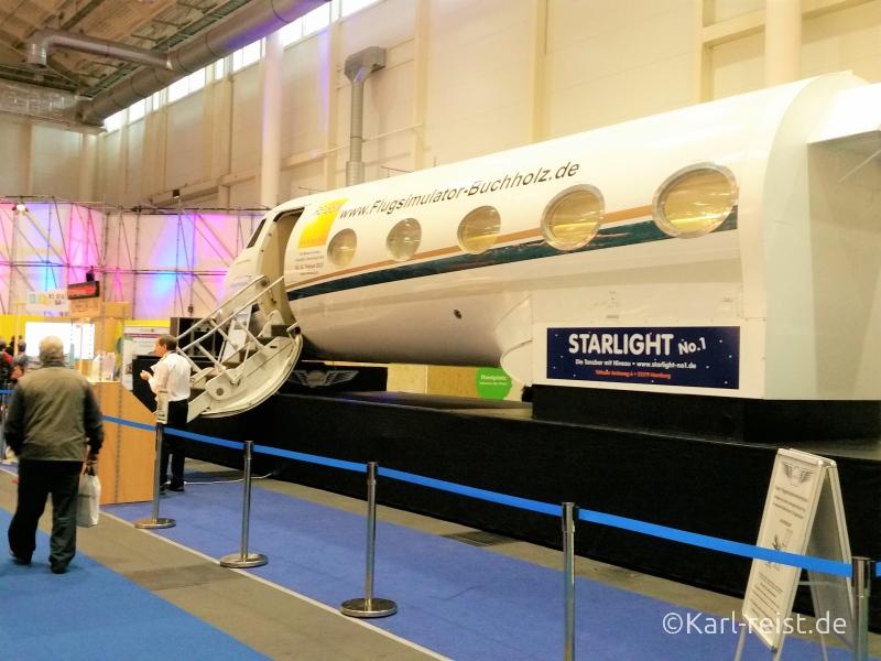 Flugsimulator Reisen Hamburg Reisemesse