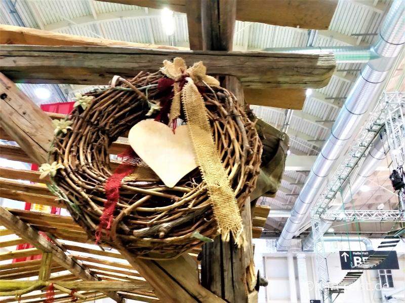 Bayrisches Holz Herz