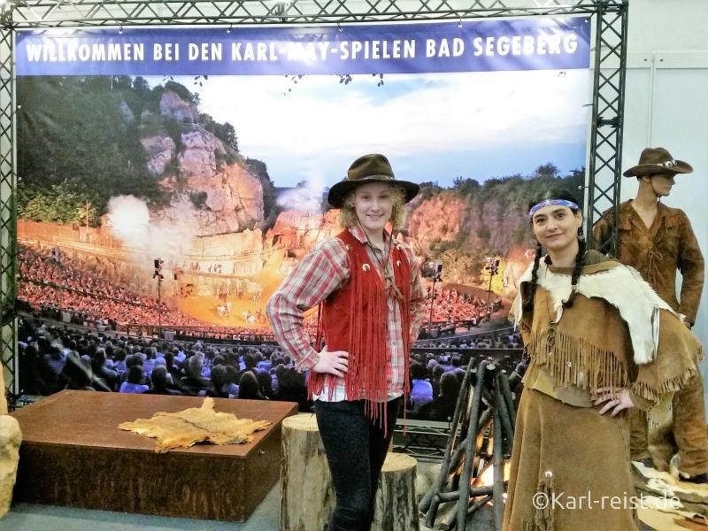 Karl May Spiele Reisemesse Reisen Hamburg