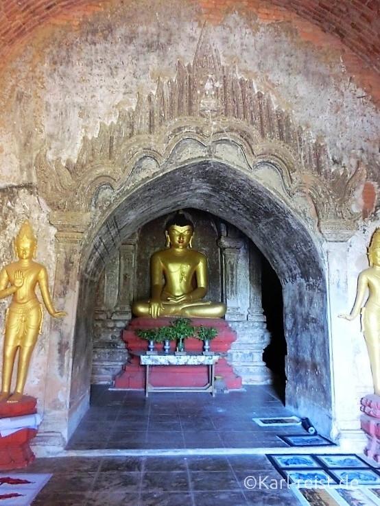 Inneres eines Tempels