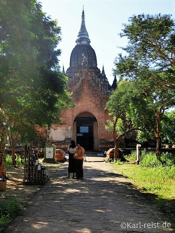 Eingang zum nächsten Tempel
