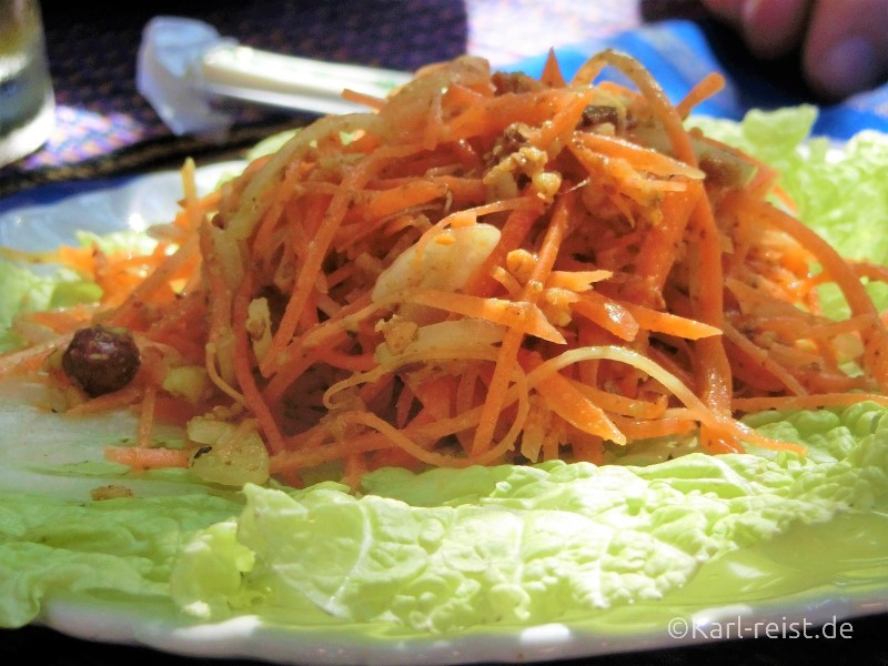 Karottensalat in Myanmar