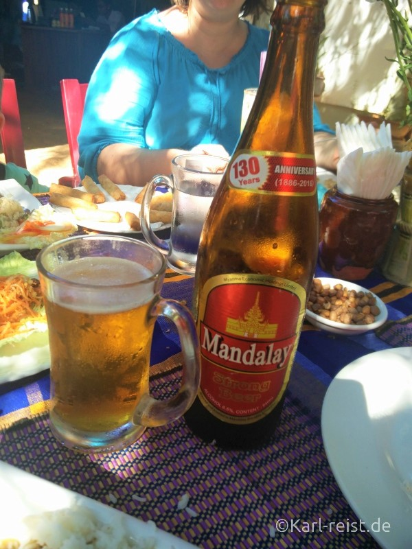 Mandalay Bier in Myanmar