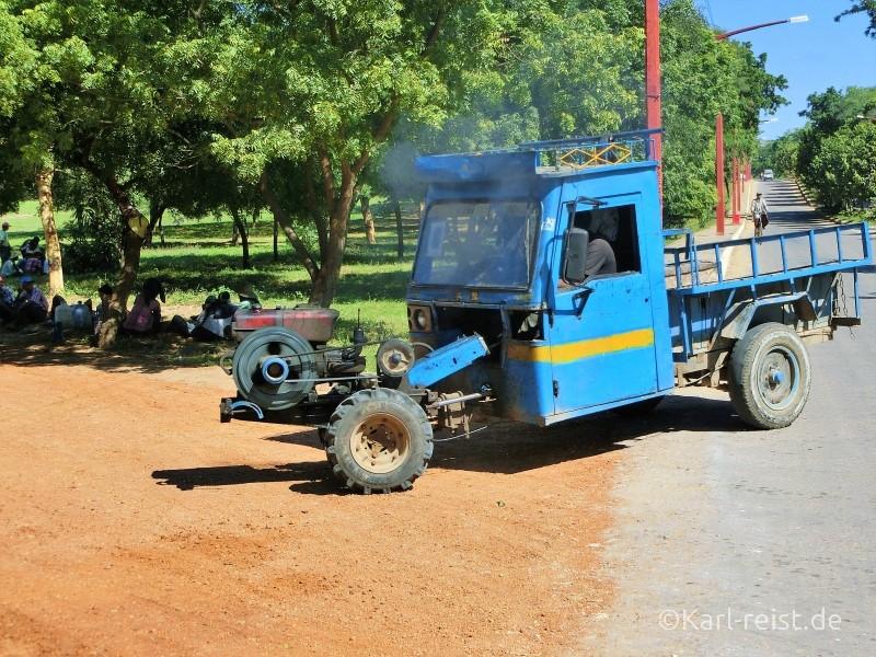 Lastwagen Myanmar