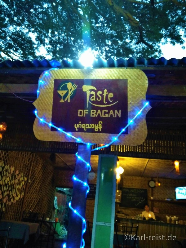 Taste of Bagan