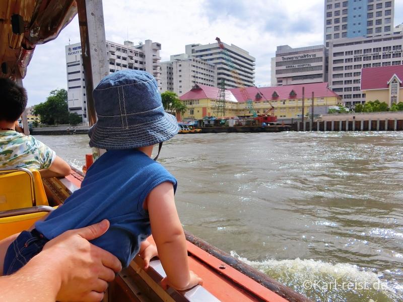 Bootstour auf dem Chao Praya River Bangkok