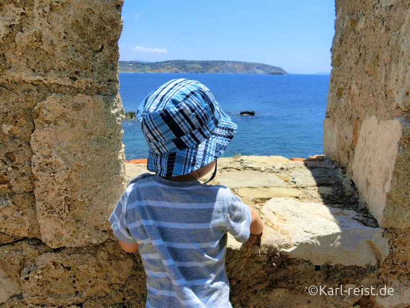 Burg Methoni Peloponnes Griechenland