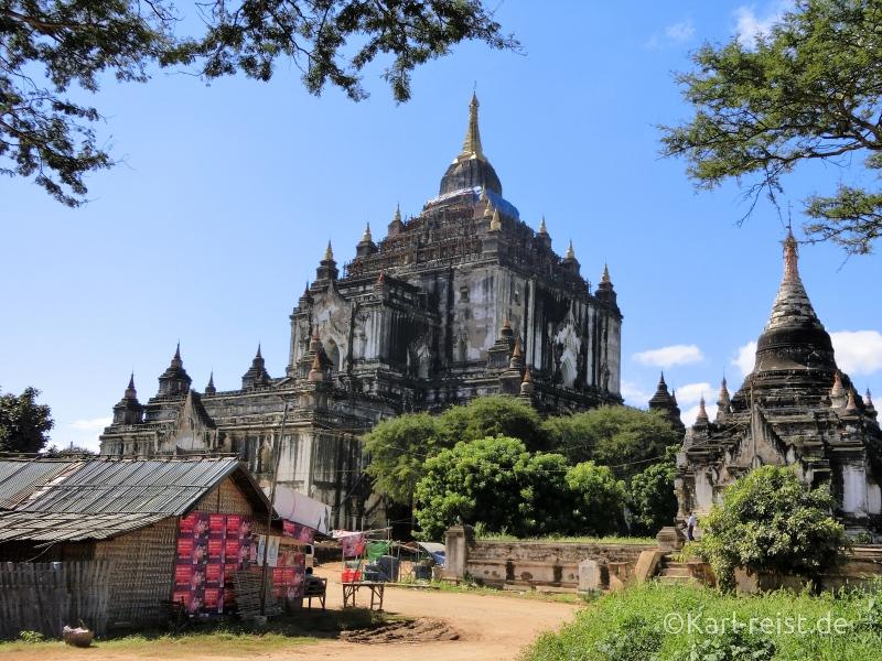 Rückansicht des Tan Bin Nyu Tempels