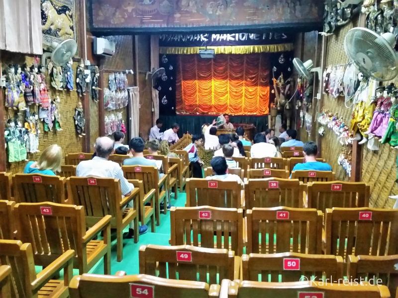 Saal Mandalay Marionettes