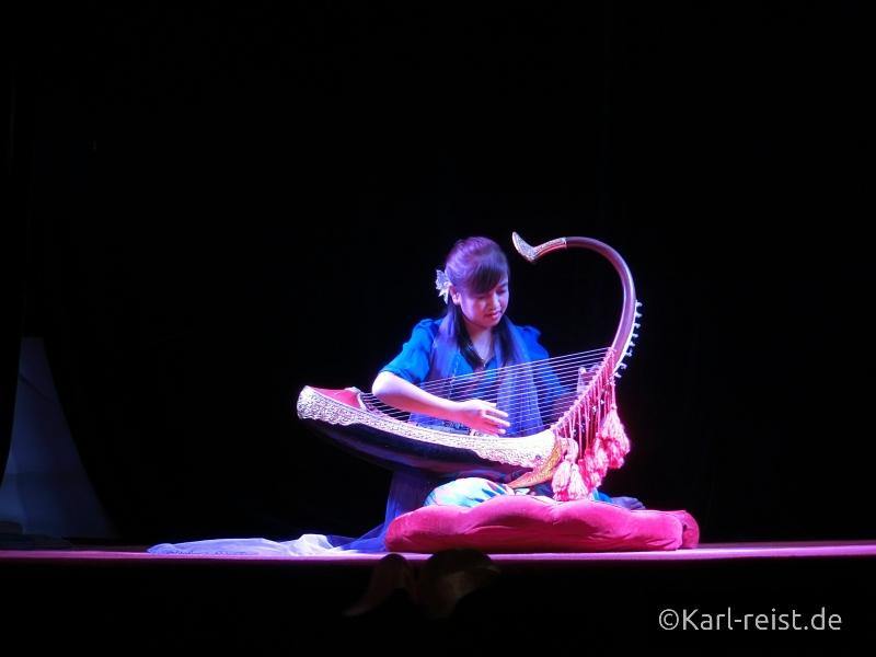 Harfe Mandalay marionettes