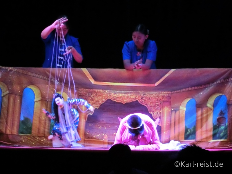 Puppe Mensch mandalay marionettes