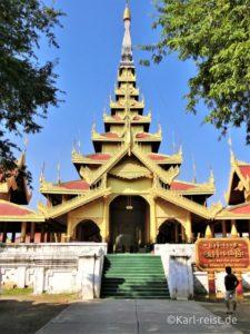 Eingangsbereich vom Mandalay Palace