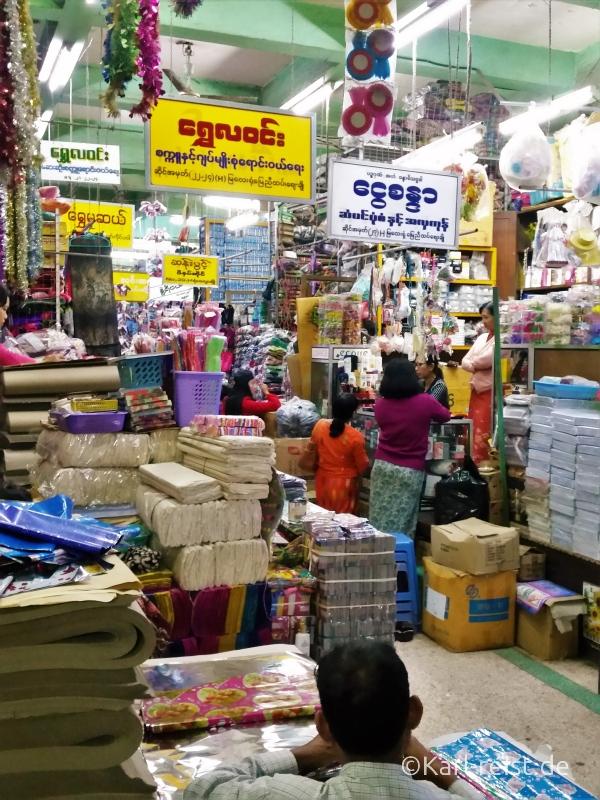 Zegyo Market im Inneren