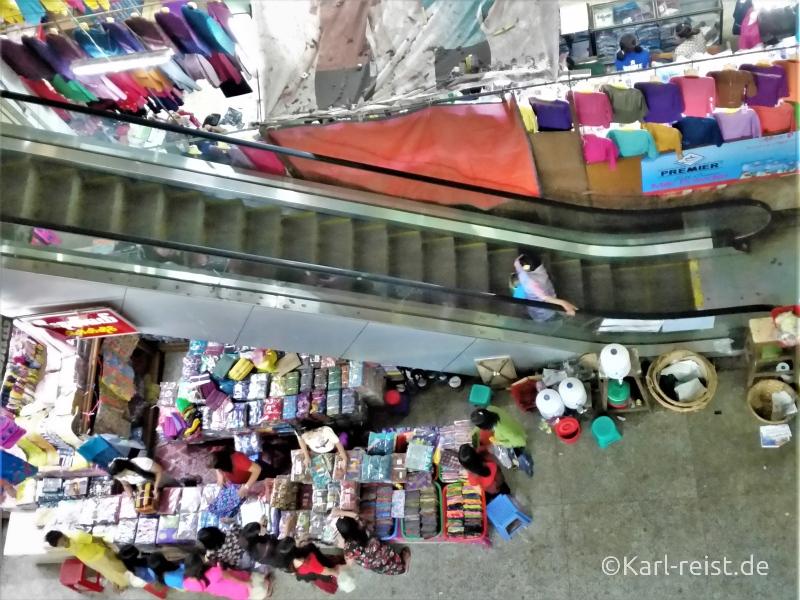 Zegyo Market Blick nach unten