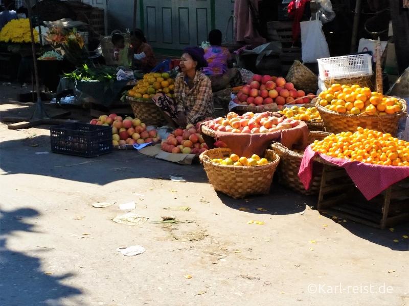 Fruchtstand Zegyo Market