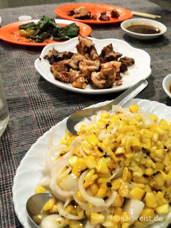 Barbecue Menü Mandalay
