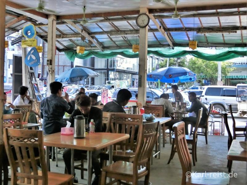 Offenes Restaurant Mandalay