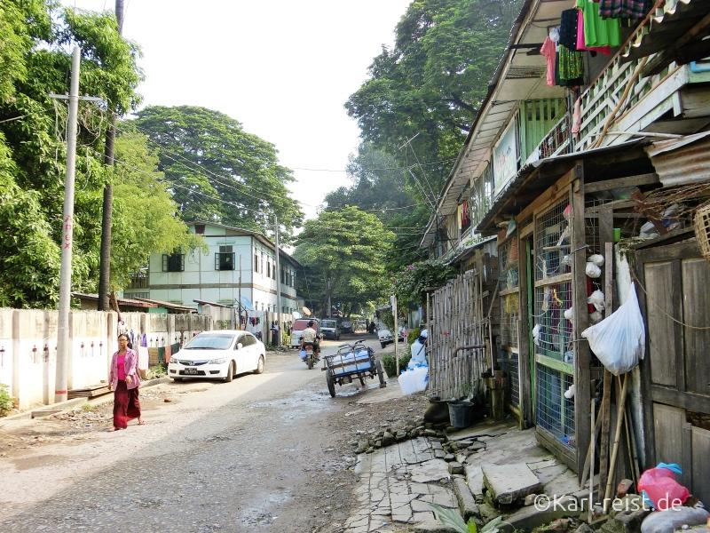 23rd Road in Mandalay Myanmar