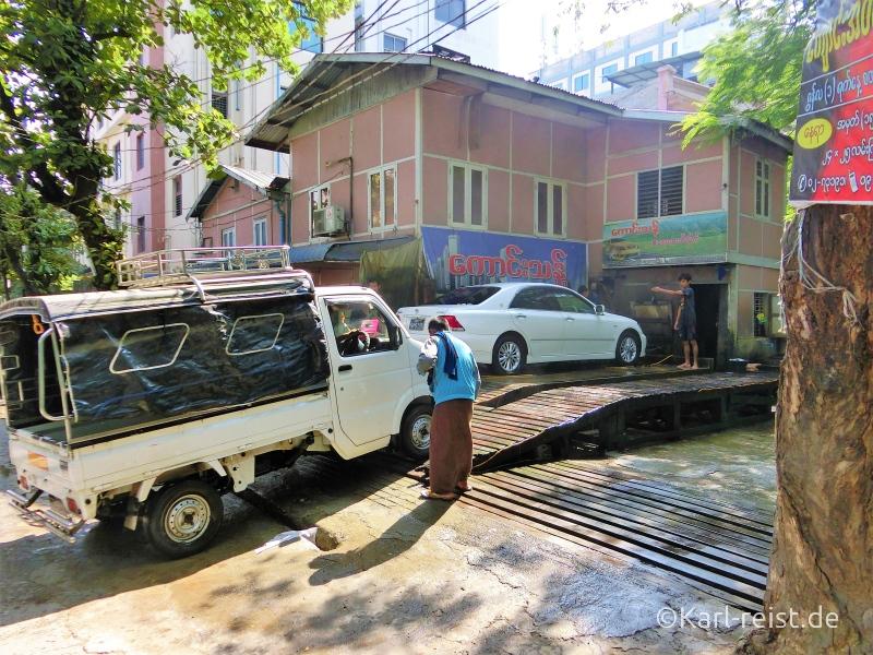 Autowaschanlage Handwäsche Mandalay